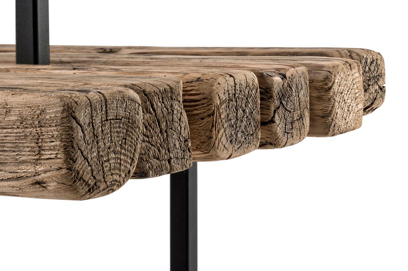 Garderobe f r weld co manuel welsky design studio - Wandregal altholz ...
